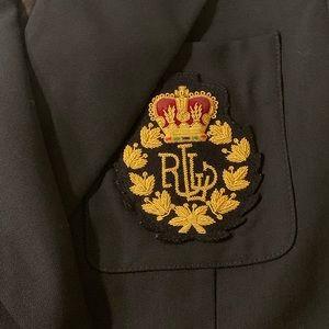 Woman's Lauren Ralph Lauren Blazer 4P crown logo